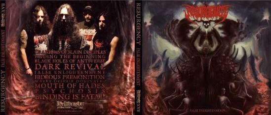 Resurgency False Enlightenment  CD Heavy metal