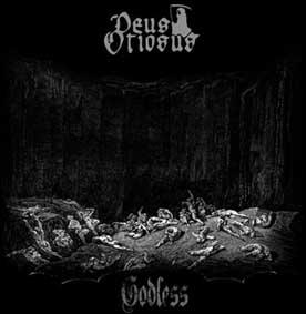 DEUS OTIOSUS Godless cover Zombie Ritual Fanzine
