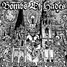 Bombs of Hades The Serpent's Redemption ad at Zombie Ritual Zine