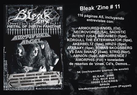 Bleak Zine 11