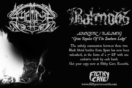 Balmog Amnion ad at Zombie Ritual Zine