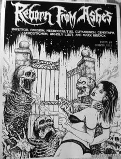 Reborn from Ashes 6 review at Zombie Ritual Zine