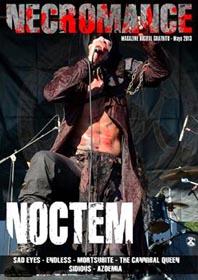 Necromance Mag at Zombie Ritual Zine