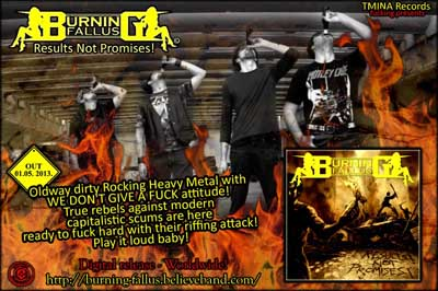 BURNING FALLUS at Zombie Ritual Fanzine