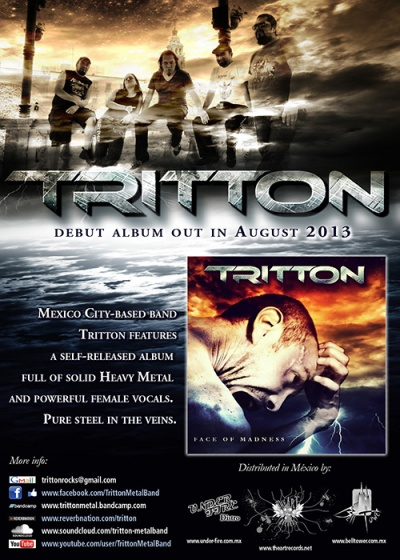 Tritton Release Flyer web at Zombie Ritual Zine