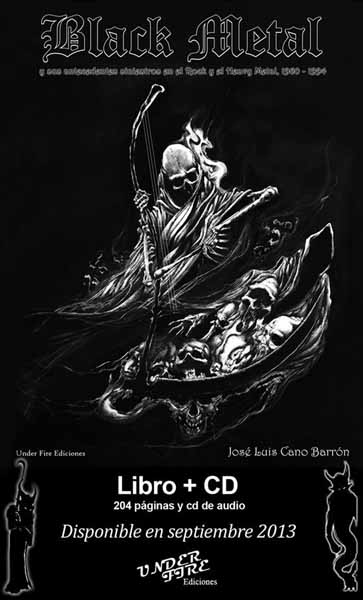 Jose Luis Cano Black Metal Book