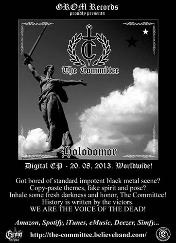 THE COMMITTEE - Holodomor - EP 2013