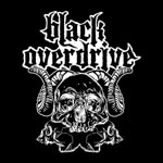Black Overdrive cover art at Zombie Ritual Zine