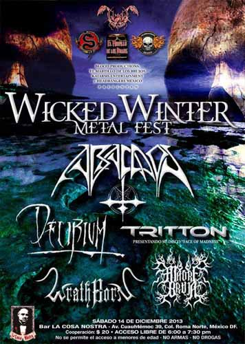 Wicked Winter Metal Fest