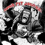 Mosh pit justice cover art