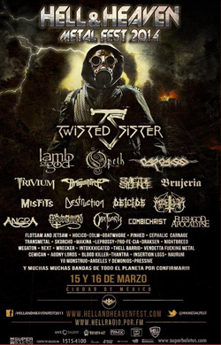Flyer Hell and Heaven Metal Fest 2014