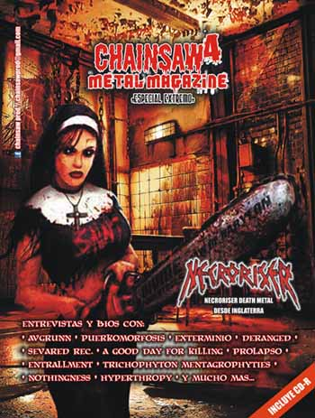 Chainsaw metal magazine 4