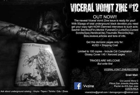 viceral vomit zine 12