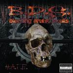 Bleeding drunk skulls cover art