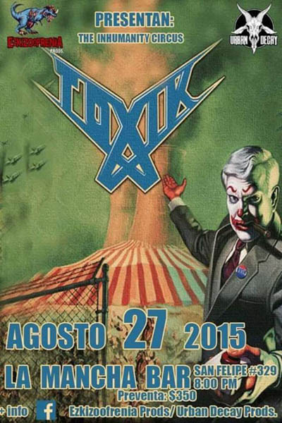 Flyer Toxik 2015 La Mancha Bar